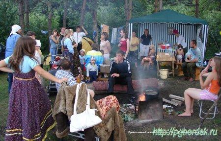Приглашаем всех в Православный летний семейный палаточный лагерь «Преображение» ЕСТЬ РАСПИСАНИЕ
