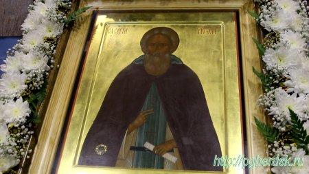 В Новосибирск прибудет икона с частичкой мощей святого преподобного Сергия Радонежского