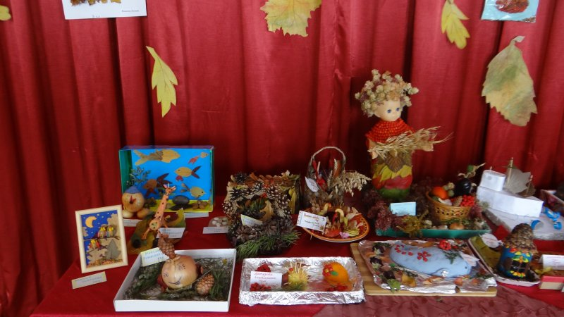 Конкурс поделка из природного материала на осень 144