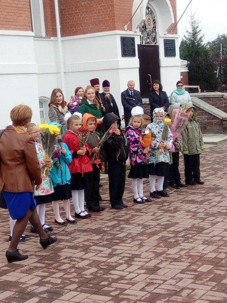 День знаний в Православной Гимназии во имя преподобного Серафима Саровского