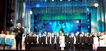 """7 января 2019 года в ДК """"Родина"""" состоялся Рождественский концерт."""