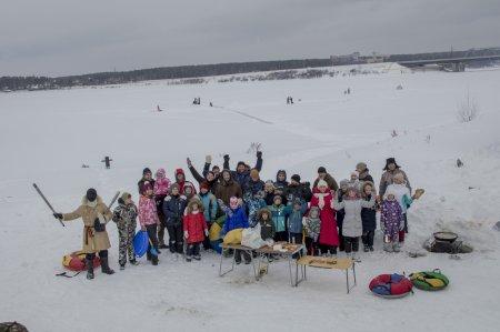 1 января в очередной раз состоялась традиционная рыбалка